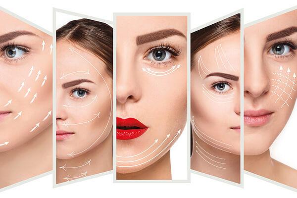 Behandlungen im Gesicht